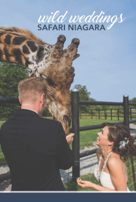 Wild Weddings at Safari Niagara
